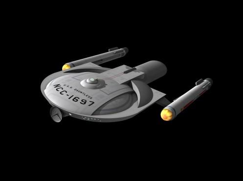 Star Fleet Museum cruiser