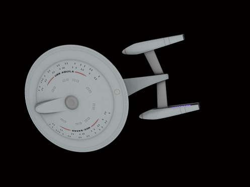 Federation Starship